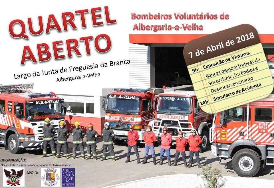 Comemorações dos 93º da Associação dos Bombeiros Voluntários de Albergaria-a-Velha.